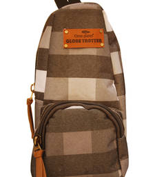 Buy Clean Planet GlobeTrotter Classic Mini Backpack Accessory Grey Checks backpack online