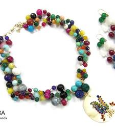 Buy Peacock Love  necklace-set online