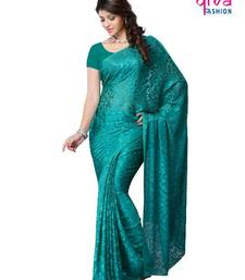 Buy PARTY WEAR FANCY SAREE brasso-saree online