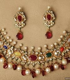 Buy Design no. 8 b.1665....Rs. 8900 Necklace online