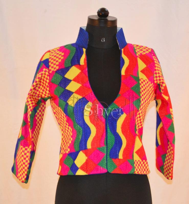 Buy Embroidered Multipurpose Jacket Online
