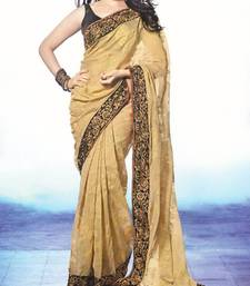 Buy STUNING  TAMANNAH IN CHIKU SAREE other-actress-saree online