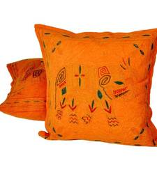 Buy Aari Zari Embroidery Cushion Cover 2 Pc. Set bed-sheet online