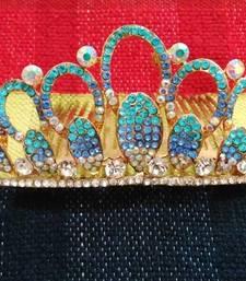 Buy Blue Diadem Tiara hair-accessory online