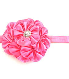 Buy Pink 7 flower baby Hairband hair-accessory online