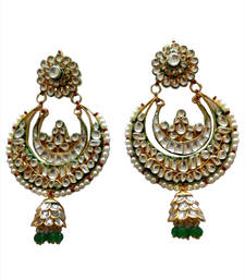 Buy rajwadi kundan earring jhumka online