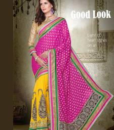Buy party wear cutpatch art silk saree. art-silk-saree online