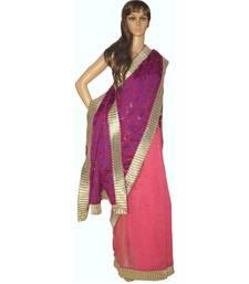 Buy Designer organza and supernet saree organza-saree online