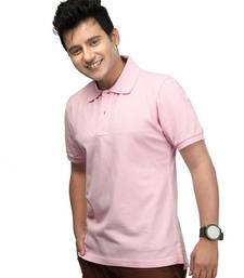 Buy Light Pink : Premium Polo men-tshirt online