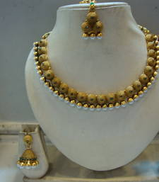 Buy Design no. 10b.2057....Rs. 1950 necklace-set online