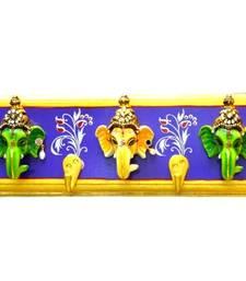 Buy Ganpati Wall Hanging Key Holder Big wall-decal online