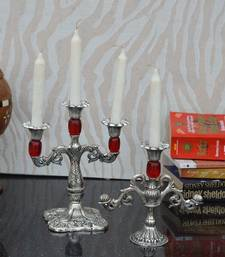 Buy Combo of Red Candle Stands candle online