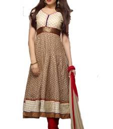 Buy New Arrival Maroon Georgette Anarkali Suit anarkali-salwar-kameez online