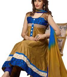 Buy New Arrival Mahendi Georgette Anarkali Suit anarkali-salwar-kameez online