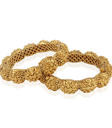Buy Sophisticated Intricate Designer Antique Bangle bangles-and-bracelet online
