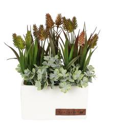 Buy Beautiful Multicolor Artificial Plant with White Pot flower online