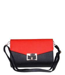 Buy Just Women - Delightful CrimsonPU Leather Hand Purse wallet online