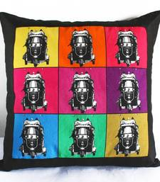 Buy Bright Color Cushion Cover with Border pillow-cover online