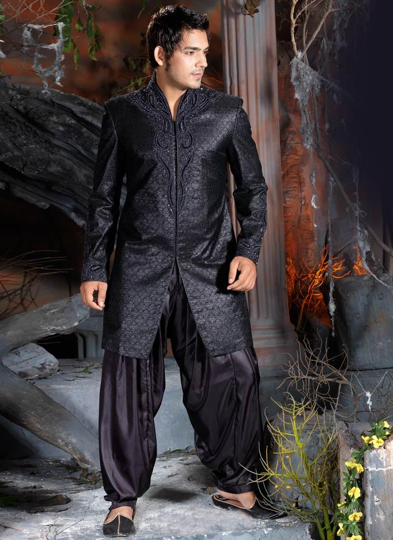 Indo Western Sherwani Online Shopping Indo-western-dress Online