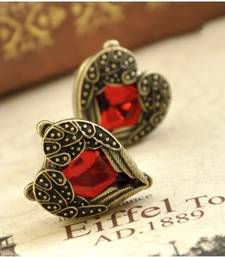 Buy Bohemian Heart Studs by Fever 21 stud online