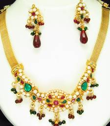Buy Elegant Polki Set. necklace-set online