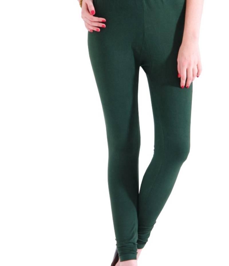 Buy dee fashion house bottle green cotton lycra legging online for Housse lycra