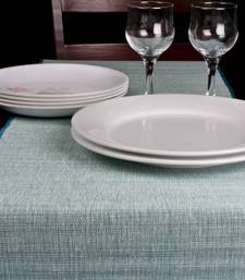 Buy Premium Talipot Table Runner - Blue table-mats-and-runner online