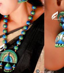 Buy terracotta jewellery Necklace online