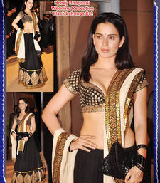 Buy Kangana Ranaut Bhagalpuri Silk Lehenga Replica wedding-saree online, Buy wedding-sarees online