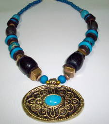 Buy Trendy Wooden Necklace Necklace online