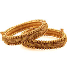 Buy Impact Gold plated Antique Bangle bangles-and-bracelet online