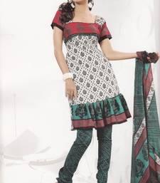 Buy Crepe Dress Material Elegant Designer Unstitched Salwar Suit D.No 4325 dress-material online