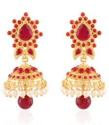 Buy Aura Antique Earring jhumka online