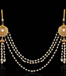 Buy Ethnic Indian Bollywood Jewelry Set Pearl Polki Waist Band waist-belt online