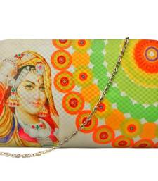Buy digital trendy clutch ( White) clutch online