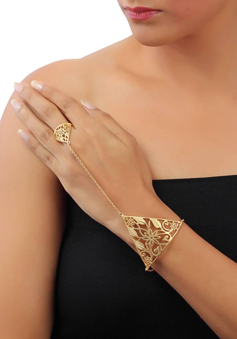 Buy Gold gardiner hand harness Online