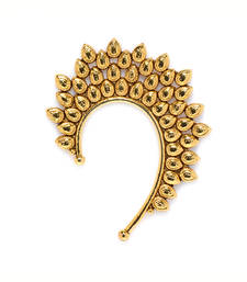 Buy Leaf Gold Ear cuffs Other online