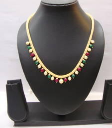 Buy Multicolor american diamonds necklaces Necklace online