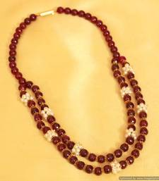 Buy Ethnic Indo Western Bead Necklace Necklace online