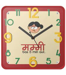 Buy Mummy Bas 5 Min Aur Kitchen Wallclock Mothers Gift gifts-for-mom online