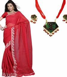 Buy Kota Doria Pure Cotton Sari Blouse Mother Day Gift gifts-for-mom online