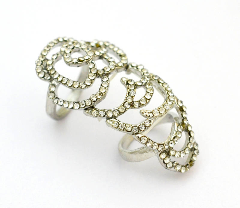 Buy high end fashion with drilling hollow out roses for High end fashion jewelry