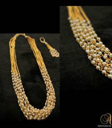 Buy 8-LINE PEARL SET Necklace online