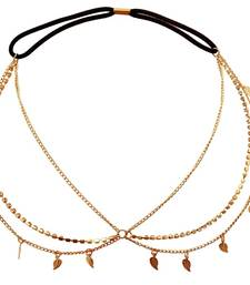 Buy Leaves Drop Head Chain hair-accessory online