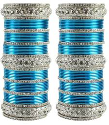 Buy Turquoise Crystal bangles-and-bracelets bangles-and-bracelet online