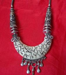 tibetian incribed tribal necklace shop online