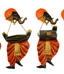 Buy Band of Ganesha DholakVeena Rebec + Harmonium wall-decal online