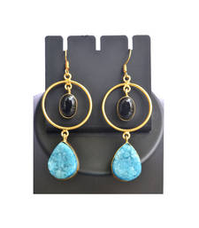 Buy onyx earrings gemstone-earring online