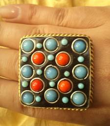 Buy Handmade Finger Ring-120193 Ring online