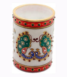Buy Marble Pen stand stationery online